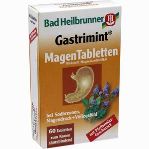 Abbildung von Bad Heilbrunner Gastrimint Magen Tabletten Kautabletten 60 Stück