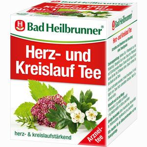 Abbildung von Bad Heilbrunner Herz- und Kreislauftee N Filterbeutel 8 Stück