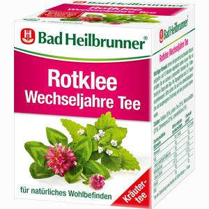 Abbildung von Bad Heilbrunner Rotklee Wechseljahre Tee Filterbeutel 8 Stück