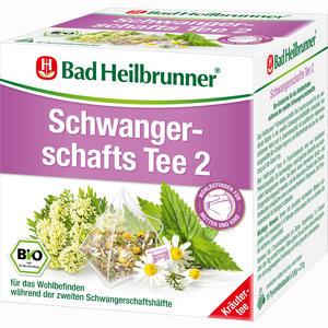 Abbildung von Bad Heilbrunner Schwangerschafts Tee 2 Bio Filterbeutel 15 Stück