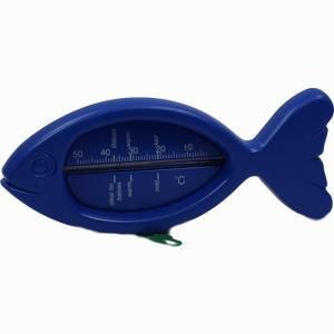 Abbildung von Badethermometer Fisch Blau 1 Stück