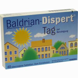 Abbildung von Baldrian Dispert Tag zur Beruhigung Tabletten 40 Stück