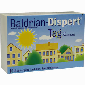 Abbildung von Baldrian Dispert Tag zur Beruhigung Tabletten 100 Stück