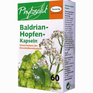Abbildung von Baldrian- Hopfen- Kapseln  60 Stück