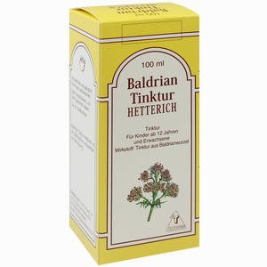 Abbildung von Baldriantinktur Hetterich  100 ml