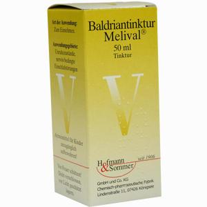 Abbildung von Baldriantinktur Melival  50 ml