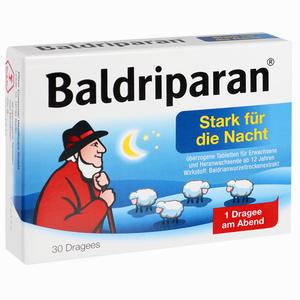 Abbildung von Baldriparan Stark für die Nacht Dragees  30 Stück