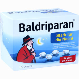 Abbildung von Baldriparan Stark für die Nacht Tabletten 120 Stück