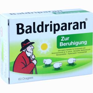 Abbildung von Baldriparan zur Beruhigung Tabletten 60 Stück