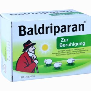 Abbildung von Baldriparan zur Beruhigung Tabletten 120 Stück