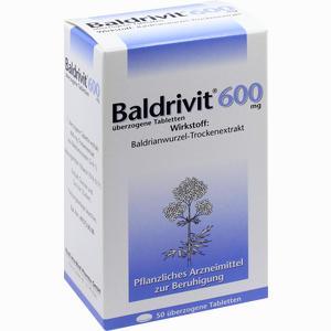 Abbildung von Baldrivit 600mg Tabletten 50 Stück