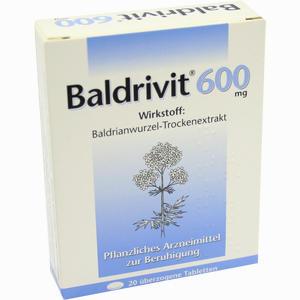 Abbildung von Baldrivit 600mg Tabletten 20 Stück