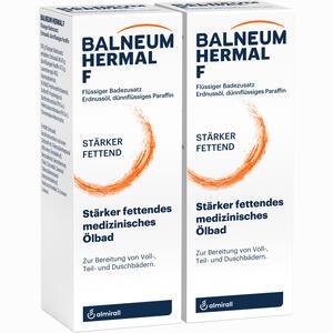 Abbildung von Balneum Hermal F Bad 2 x 500 ml