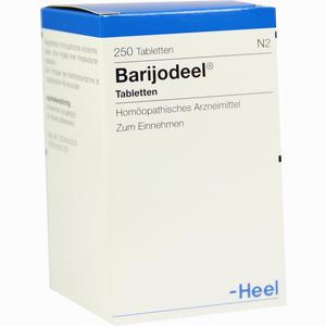 Abbildung von Barijodeel Tabletten 250 Stück