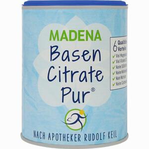 Abbildung von Basen Citrate Pur Nach Apotheker Rudolf Keil Pulver 216 g