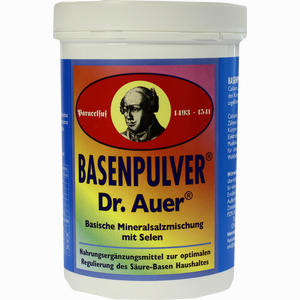 Abbildung von Basenpulver Dr. Auer  450 g
