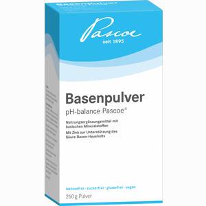Abbildung von Basenpulver Pascoe  260 g