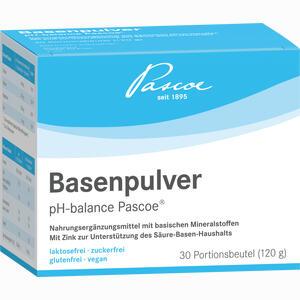 Abbildung von Basenpulver Ph- Balance Pascoe  30 x 4 g