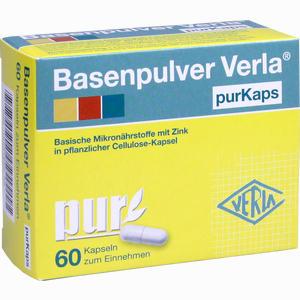 Abbildung von Basenpulver Verla Purkaps Kapseln 60 Stück