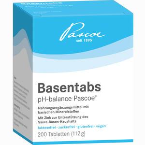 Abbildung von Basentabs Ph- Balance Pascoe Tabletten 200 Stück