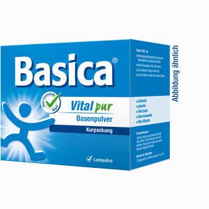 Abbildung von Basica Vital Pur Basenpulver  50 Stück