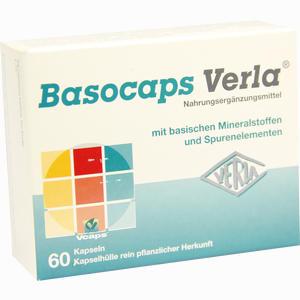 Abbildung von Basocaps Verla Kapseln 60 Stück
