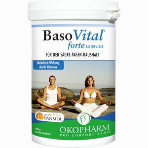Abbildung von Basovital Forte Basenpulver  400 g