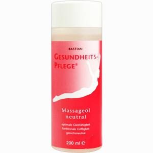 Abbildung von Bastian Gesundheitspflege Massageöl Neutral Öl 200 ml
