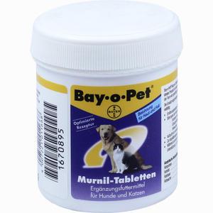 Abbildung von Bay- O- Pet Murnil Tabletten Vet  80 Stück