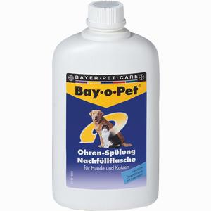 Abbildung von Bay- O- Pet Ohren- Spülung Nachfüllflasche Fluid 250 ml