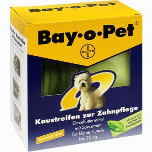 Abbildung von Bay- O- Pet Zahnpflege Kaustreifen mit Spearmint für Kleine Hunde  140 g