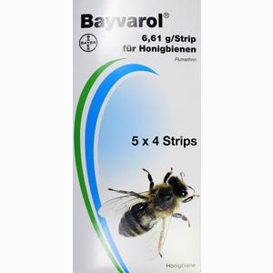 Abbildung von Bayvarol Strips Vet Streifen 5 x 4 Stück