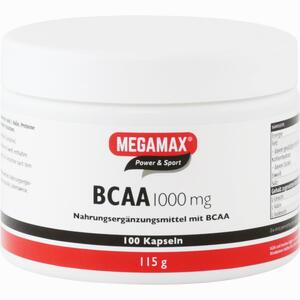 Abbildung von Bcaa 1000 Mg Megamax Kapseln 100 Stück