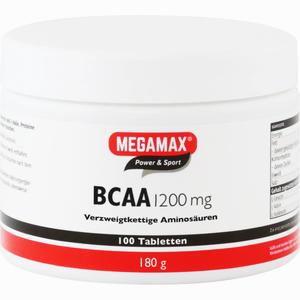 Abbildung von Bcaa 1200mg Megamax Tabletten 100 Stück