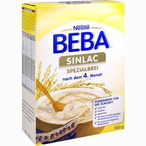 Abbildung von Beba Sinlac mit Bifidus Bl Pulver 500 g