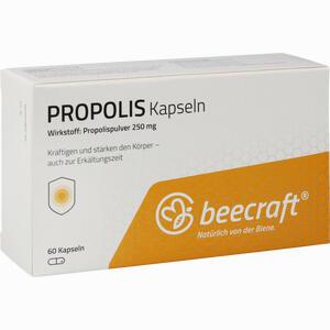 Abbildung von Beecraft Propolis Kapseln  60 Stück