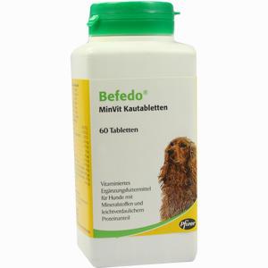 Abbildung von Befedo Minvit für Hunde Vet Kautabletten 60 Stück