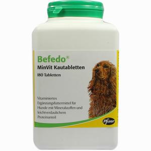 Abbildung von Befedo Minvit für Hunde Vet Kautabletten 180 Stück