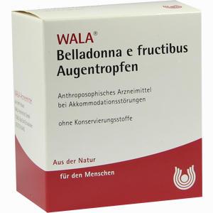 Abbildung von Belladonna E Fructibus Augentropfen  30 x 0.5 ml