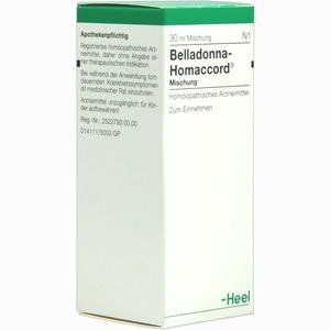 Abbildung von Belladonna Homaccord Tropfen  30 ml