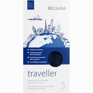 Abbildung von Belsana Traveller A- D Gr. M Blau Fuß Ii 39- 42 2 Stück