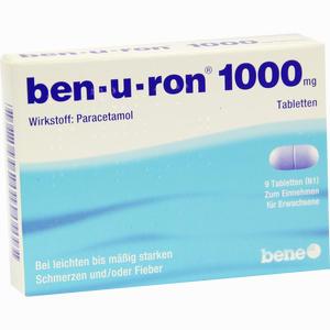 Abbildung von Ben- U- Ron 1000mg Tabletten 9 Stück