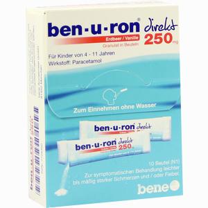 Abbildung von Ben- U- Ron 250mg Direkt Granulat Erdbeer/vanille  10 Stück
