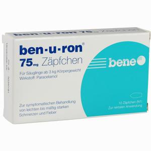 Abbildung von Ben- U- Ron 75mg Zäpfchen 10 Stück