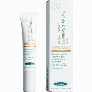 Abbildung von Benevi Color Uv- Pigmentcreme Hell  15 ml