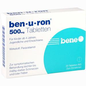 Abbildung von Benuron Tabletten 20 Stück