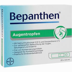 Abbildung von Bepanthen Augentropfen  20 x 0.5 ml