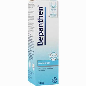 Abbildung von Bepanthen Narben- Gel mit Massage- Roller 20 g