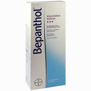 Abbildung von Bepanthol Intensiv Körperlotion Spenderflasche  400 ml