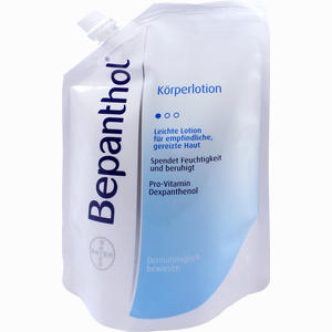 Abbildung von Bepanthol Körperlotion im Nachfüllbeutel  400 ml